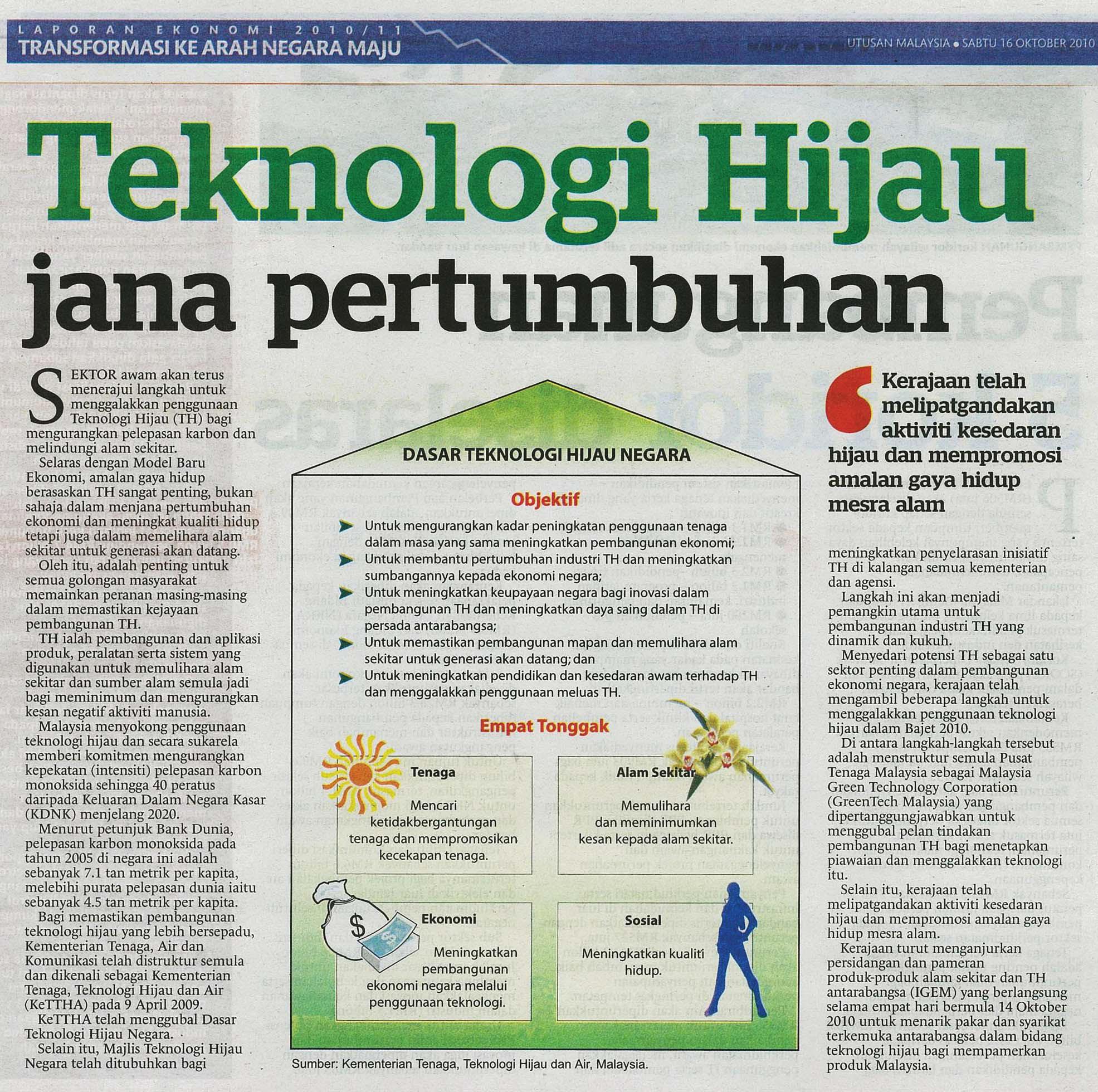 kesan teknologi hijau